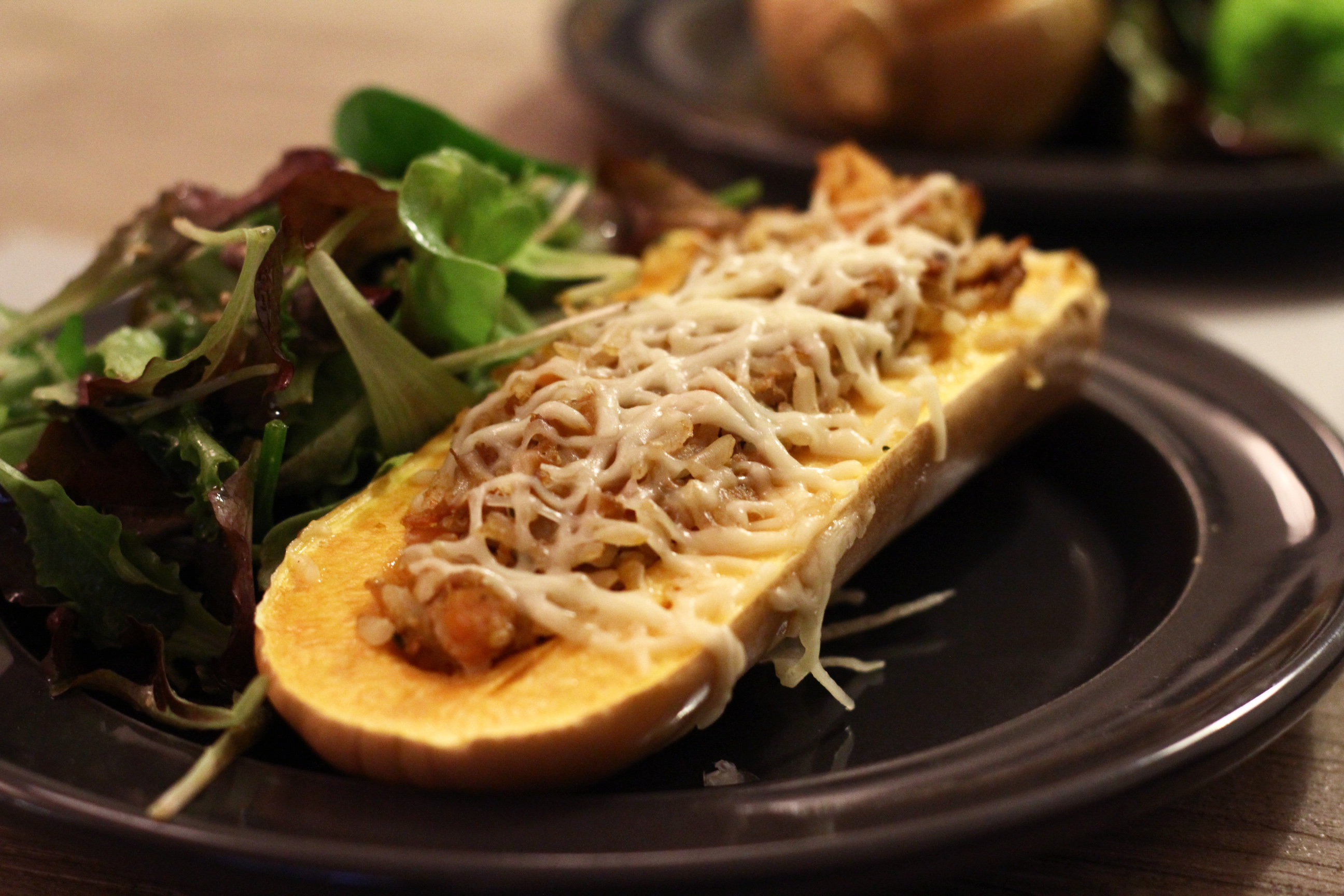butternut farcie au four |