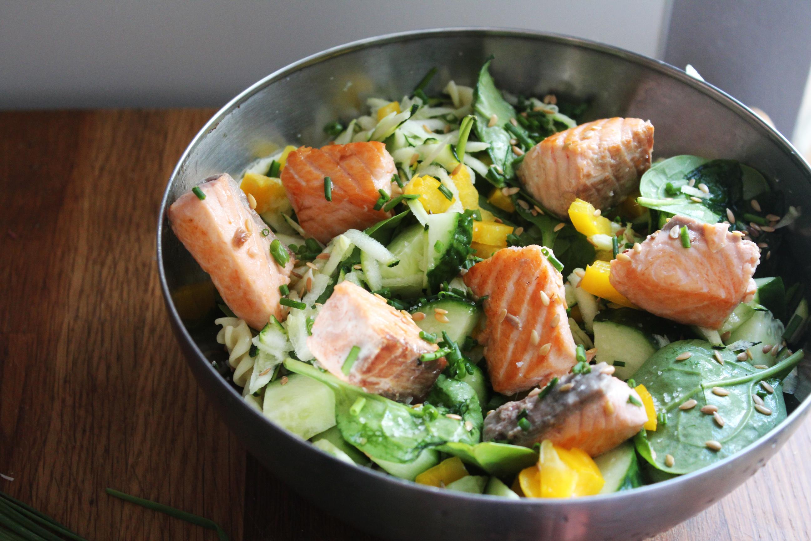 salade de saumon p 226 tes et crudit 233 s