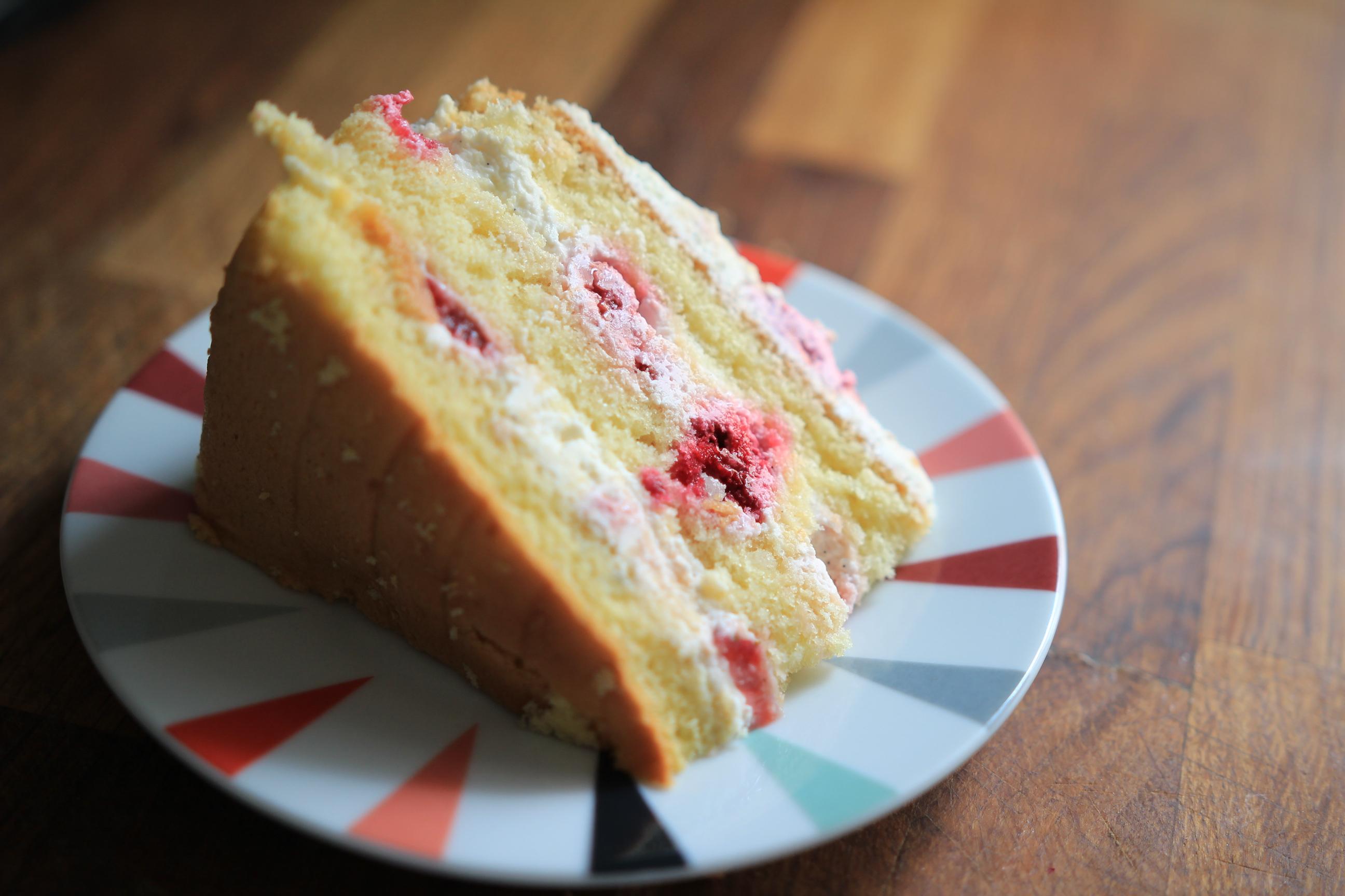 Cake Aux Fruits Rouges